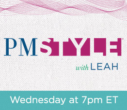 PM Style® with Leah Williams Wednesday at 7pm ET