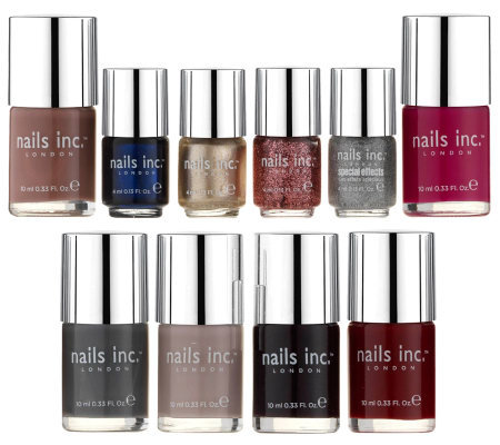 nails inc. Best of British 10-pc London Nail Polish Collection