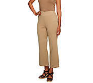 Liz Claiborne New York Ponte Knit Crop Pants - A253500