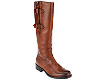 Clarks Artisan Leather Tall Shaft Boots Mullin Spice - A257400