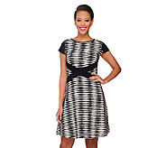 SA by Seth Aaron Regular Striped Knit Dress - A262700