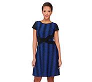 SA by Seth Aaron Regular Striped Knit Dress - A262700