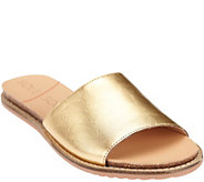 Sole Society Leather or Suede Slide Sandals - Luna - A265500