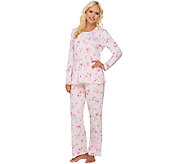 Carole Hochman Petite Veiled Bouquet 2-Piece PJ Set - A266700
