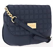 As Is Tignanello Lady Q Quilted Crossbody - A267800