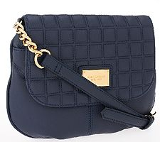 "As Is"" Tignanello Lady Q Quilted Crossbody"