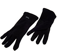The Perfect Fit Stretch Fleece Gloves w/Textin Capabilities & Grip Dots - A268400