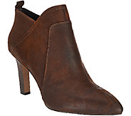 Franco Sarto Leather Pointed Toe Booties - Karina - A271300