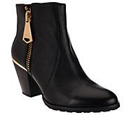 As Is Aimee Kestenberg Leather Ankle Booties - Dana - A276100