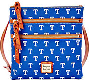 Dooney & Bourke MLB Rangers Triple Zip Crossbody - A280000