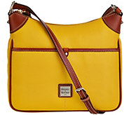 As Is Dooney & Bourke Pebble Leather Kimberly Crossbody Bag - A282600