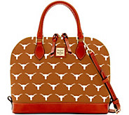 Dooney & Bourke NCAA University of Texas Zip Zip Satchel - A283200
