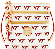 Dooney & Bourke NCAA Virginia Tech University Zip Crossbody - A283500