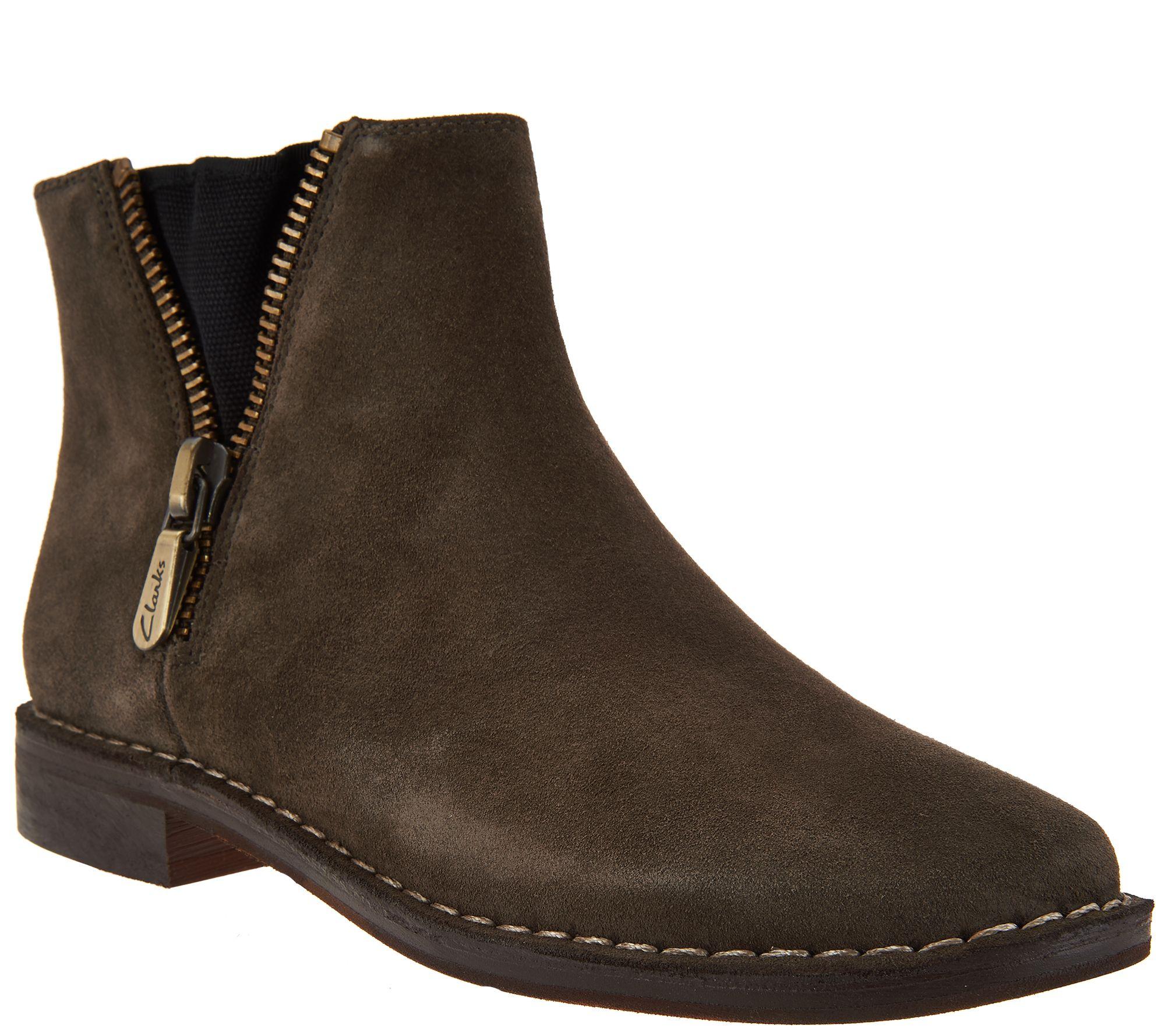 Clarks Womens Boots & Clarks Booties Up to 75% Off! FREE Shipping & Exchanges. Choose from a huge selection of Clarks Boots for Women. Free Shipping. No Minimum. Sale. Clarks Emslie Monet Bootie (Women's) $ $ 20% off. Add to Cart. Quick View. New! Sale. Clarks Maypearl Ramie Ankle Bootie (Women's) $