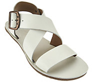 As Is Fly London Leather Adjustable Multi-strap Sandals - Bian - A286500