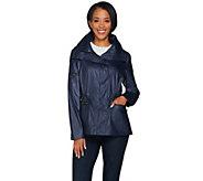 G.I.L.I Coated Cotton Anorak Jacket - A287000