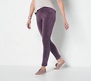 Cuddl Duds Double Plush Velour Leggings - A293100