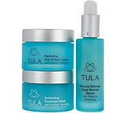 TULA by Dr. Raj 3-Piece Probiotic Skin Care Essentials Kit - A294100