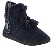 MUK LUKS Amira Slipper Boots with Furpa Lining - A297900