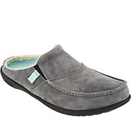 Spenco Orthotic Suede Slip-On Shoes - Cozy - A300400
