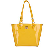 Dooney & Bourke Patent Leather Tote Handbag- Janie - A305100