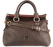 As Is Dooney & Bourke Florentine Leather Leanna Satchel - A309300