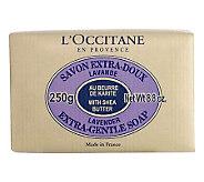 LOccitane Shea Butter Extra Gentle Soap Lavender, 8.8 oz - A324200