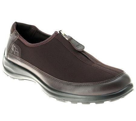 50ce656d5d5 Fly Flot Style Glory Zip-Up Shoes — QVC
