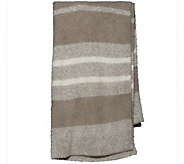 Barefoot Dreams CozyChic Multi Stripe HeatheredBlanket - A360500