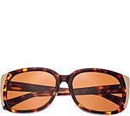 Bertha Natalia Tortoise Sunglasses w/ PolarizedLenses - A361200