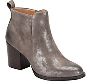 Sofft Leather Ankle Boots - Ware - A361600