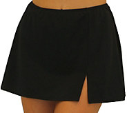 Fit 4 Ur Hips Solid Skirt with Slit - A363000