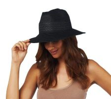 Luxe Rachel Zoe Straw Panama Hat