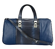 B. Makowsky Harper Leather Convertible Satchel - A229001