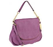 Emma & Sophia Pebble Leather Aimee Shoulder Bag - A256301
