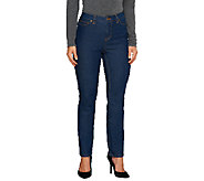 Liz Claiborne New York Petite Jackie Slim Leg Jeans - A256501