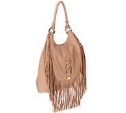 G.I.L.I. Convertible Leather Backpack with Fringe - A261701