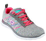 Skechers Lace-up Sneakers w/ Memory Foam - Miracle Worker - A263401