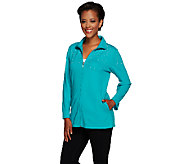 Quacker Factory Simulated Pearls Just Wanna Have Fun Jacket - A264501
