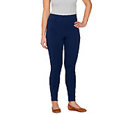 Liz Claiborne New York Hepburn Ponte Knit Ankle Pants - A266301