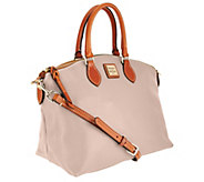 Dooney & Bourke Pebble Leather Domed Satchel - A266601