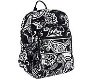 As Is Vera Bradley Signature Print Campus Backpack - A267101