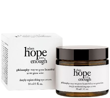 philosophy when hope is not enough eye cream 1 oz