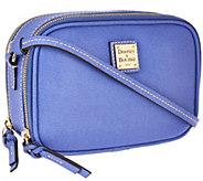 As Is Dooney & Bourke Saffiano Leather Sawyer Crossbody - A272401