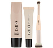 Doll 10 HydraGel Foundation & Concealer Set with Brush - A277901