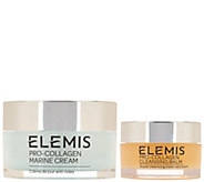 Elemis Pro-Collagen Marine Cream w/ Travel Size Cleansing Balm - A286301