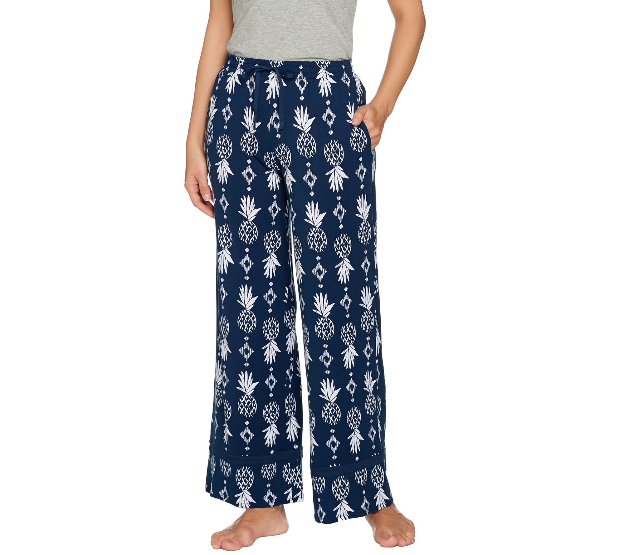 cuddl duds smart comfort palazzo pants page 1 � qvccom