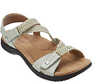 Earth Origins Leather Adjustable Sandals - Stella - A289801