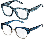 Cynthia Bailey Eyewear S/2 Readers with Case Strength 1-2.5 - A297801