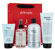 philosophy snow angel 4-piece layering set with gift bag - A298601